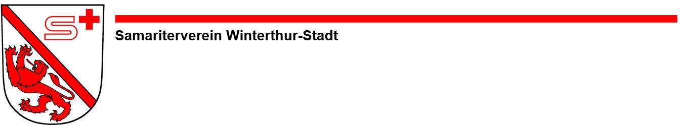 Herzlich willkommen beim Samariterverein Winterthur-Stadt
